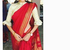 Sari Blouse Designs, Designer Blouse Patterns, Fancy Blouse Designs, Blouse Styles, Vestidos Retro, Stylish Blouse Design, Blouse Models, Traditional Fashion, Fancy Sarees