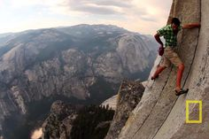 Alex Honnold, one of the best rock climbers, no rope