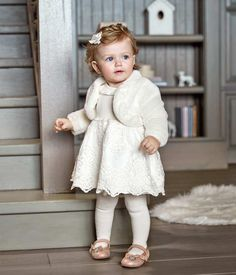 A beautiful look for a special occasion😍🌸💗 . Baby Girl Fashion, Fashion Kids, Family Picture Outfits, Kids Outfits, Little Girl Dresses, Girls Dresses, Baby Kids Clothes, Holiday Dresses, Kind Mode