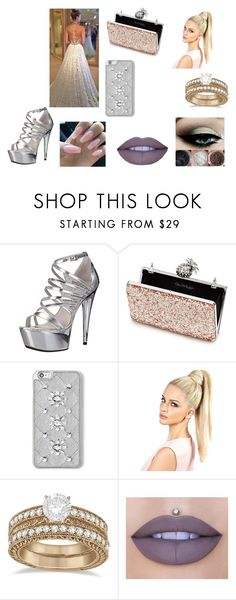 """Wedding"" by alexa78-1 on Polyvore featuring Ellie Shoes, Miss Selfridge, MICHAEL Michael Kors, Allurez and Jeffree Star"