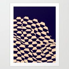Shipyard Blu — Matthew Korbel-Bowers Art Print