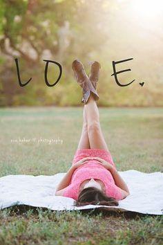 Cowboy boot maternity photo - LOVE | Bay Area Maternity & Newborn Photographer | Eva Baker Photography