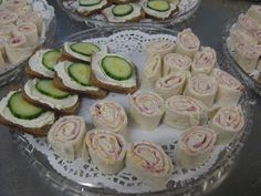 The Pious Sodality of Church Ladies: Tea Party Food
