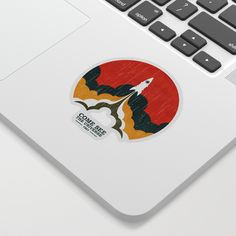 Come See The Universe Sticker by Picomodi - Transparent Background - Cute Laptop Stickers, Come And See, Affordable Art, Artsy Fartsy, Adhesive, Cool Designs, Personal Style, Universe, Graphic Design