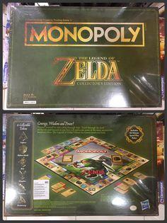 Zelda Monopoly Visit blazezelda.tumblr.com