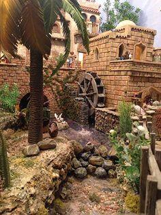 Treehouses, Bethlehem, Playgrounds, Nativity, Taj Mahal, Cities, Scene, 3d, Mansions