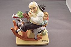 Norman Rockwell Gramps At The Reins Figurine (Figurines) at BG's China Replacement, Art Pottery & Porcelain Norman Rockwell Figurines, Norman Rockwell Paintings, Couples In Love, Pottery Art, Porcelain, China, America, Illustration, Artist