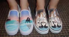 paint their sneakers