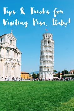 Thinking Of Visiting Pisa? Here Are 10 Things You Need To Know Before You Visit Pisa, Italy! (Hand Luggage Only) Montenegro, Pisa Italia, Places To Travel, Places To See, Marseille France, Italy Travel Tips, Cuba Travel, Rome Travel, Travel Europe