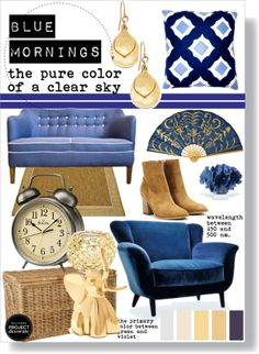"""blue mornings"" by slpayne on Polyvore"