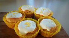 Koolhydraatarme citroencupcakes - flowcarbfood.nl