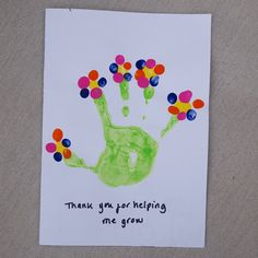 Thank you for helping me grow teacher cards Greeting Cards For Teachers, Teacher Thank You Cards, Teachers Day Gifts, Best Teacher Gifts, Thank You Cards From Kids, Handmade Thank You Cards, Teacher Birthday Card, Birthday Cards, Thanks Teacher