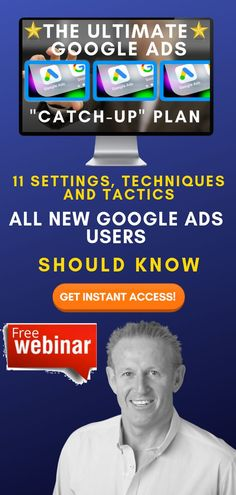 """Running Your Own Business Comes With A Lot Of Challenges...  Advertising Doesn't Need To Be One Of Them.  What If You Could Create Ad Campaigns That Actually Work?  [FREE] Training: The Ultimate Google Ads """"Catch Up"""" Plan  Get Instant Access Now!  #googleads #adwords #leadgeneration #businessgrowth  #sellonline #onlinebusiness #onlinemarketing Seo Marketing, Online Marketing, Marketing Ideas, Affiliate Marketing, What Is A Podcast, How To Know, How To Start A Blog, Thank You Email, Local Seo Services"""