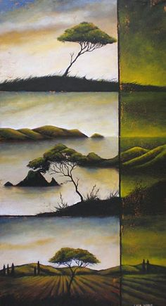 Artist specialising in creating original paintings to harmonise and enhance your interiors. Great Paintings, Original Paintings, Bonsai Tree Types, Altered Canvas, New Zealand Art, Nz Art, Maori Art, Art Corner, Art Portfolio