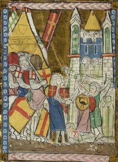 BNF Français 795  Chanson d'Antioche (1275-1300)