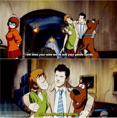 Supernatural 13x16//Scoobynatural