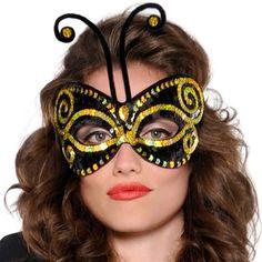 Bumble Bee Mask - Halloween Costume Accessory - Fiesta Celebration