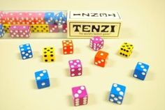 Tenzi fast-paced dice game travel