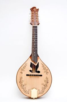 Dove Sound Hole Mandolin. WANT so bad!!! this guys stuff on etsy is beautiful...check it out...if you don't play this could be art on your wall. Paul Celentano~Celantano Woodworks