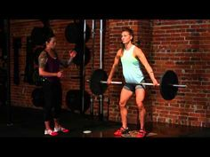 CrossFit Strength Drills with Andrea Ager & Diane Fu - YouTube