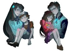 ... I love reverse falls... so many ships. DIPPER IS SO, JUST, *fangirl squels* I love all dippers.