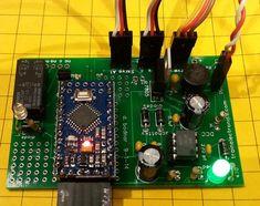 Arduino DCC Function Decoder