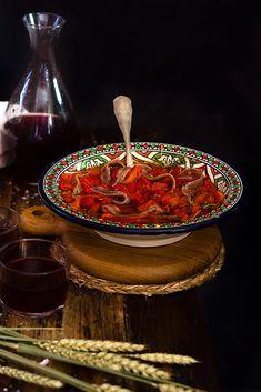 Yerbabuena en la cocina: Asadillo manchego