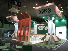 GIRO stand at last Fruit Logistica exhibition 2014 in Berlin