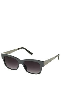 Metallic Wayfarer Sunglasses