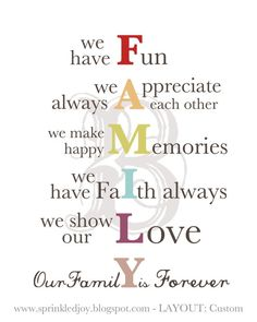 Family Mission Statement Print - Customizable Print in Many Colors, Subway… Great Quotes, Quotes To Live By, Me Quotes, Inspirational Quotes, Qoutes, Girly Quotes, Famous Quotes, Quotations, We Are Family