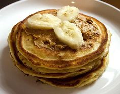New You Recipe - Two ingredient pancakes: 2 eggs, 1 ripe banana. Crack the eggs, slice the banana. Blend in a Magic Bullet, smoothie blender, regular blender or food processor.   Blend until completely smooth, which will take longer the less ripe the bananas are.  That's about it – just cook on med/low heat, greasing the pan with a little coconut oil. Recipe adapted from Oh Snap! Let's Eat!