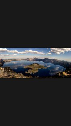 crater lake.