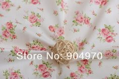 RED ROSE white cotton fabric Textile kids 100% cotton fabric Quilting Bedding Baby Fabric Patchwork 160cm x 50cm http://s.click.aliexpress.com/e/UrFqB2BUF