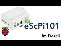 eScPi123B Raspberry Hutschienengehäuse   Raspberry Pi Zubehör