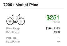 Statricks . . . good free website that helps you decide what used items should cost/be sold for