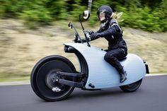 Johammer J1 motocicleta eléctrica de original diseño