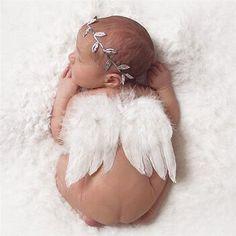 Newborn Wings   Headband