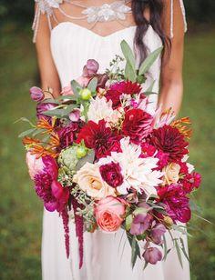 bright boho bouquet