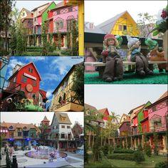 """มิโมซ่า พัทยา (Mimosa Pattaya) สถานที่ท่องเที่ยวภายใต้แนวคิด """"The City of Love"""" และบรรจงสร้างสรรค์ทัศนียภาพให้เกิดเป็นเมืองแห่งความรัก ที่มีกลิ่นอายของสถาปัตยกรรมเมืองโบราณของฝรั่งเศส http://travel.kapook.com/view57286.html"""
