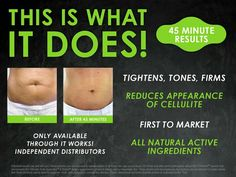 Have you tried that Crazy wrap thing?? You can get a pack of 4 for $59 at MY discount if you become a loyal customer! And get up to 40% off our other incredible products! Yanatrush.itworks.com