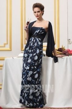 DressesMallAU Modern Strapless Print Chiffon Formal Evening Dress Evening Dresses Online, Formal Evening Dresses, Evening Gowns, Print Chiffon, Your Perfect, Modern, Beautiful, Fashion, Evening Gowns Dresses