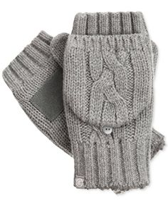 Brought to you by Avarsha.com: <div><div>Brave the cold in cable knit mittens that give you instant coziness the minute you slip them on. Acrylic; lining: polyester; palm: genuine leather. Convertible flip-top design. Hand wash.</div><ul><li>Acrylic; lining: polyester; palm: genuine leather.</li><li>Convertible flip-top design.</li><li>Hand wash.</li></ul><div>Acrylic; lining: polyester; palm: genuine leather.</div><div>Isotoner</div></div>