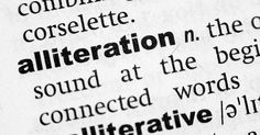 Вы найдете примеры аллитерации в обычной английской речи, в скороговорках, в детских стихотворениях. Давайте рассмотрим несколько примеров аллитерации в английском.