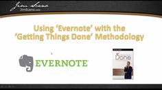 How to make use of Evernote to do the GTD system -- Jim Scano explains his system.  https://www.youtube.com/watch?v=hoCyKJn9tjo