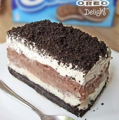 Oreo+delight,+such+a+great+summer+time+dessert.+It+is+so+fluffy+and+delicious.