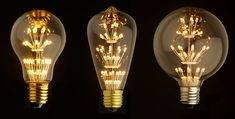 Awesome Edison LED light bulbs! Learn more on LightsOnline Blog.