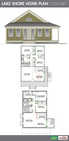 Colchester 3 Bedroom 2 1 2 Bath Home Plan Features Open