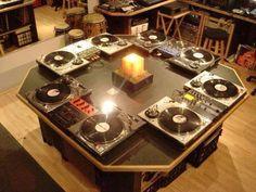 - DJ Set Ups All Around - #music #dj #djculture #turntables #mixers http://www.pinterest.com/TheHitman14/dj-culture-vinyl-fantasy/