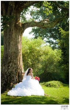 The Madisons » Liv Hefner Photography  Wedding Photography Stunning WV Bride Bride outdoor wedding bridal portraits