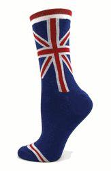 British Flag Socks / Blue